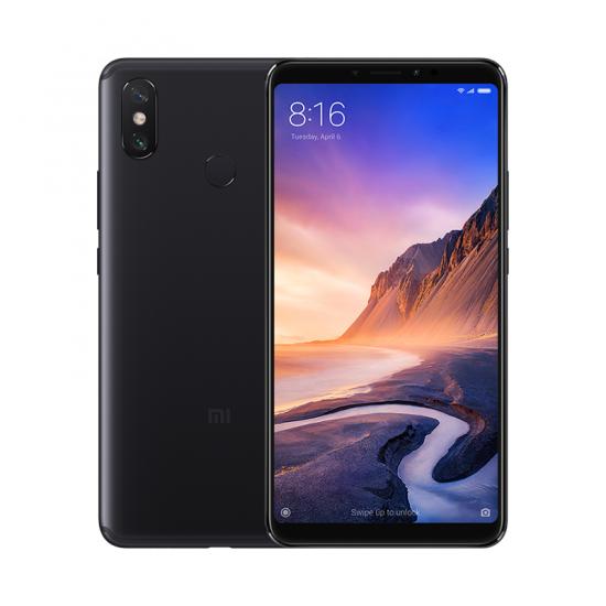 "Smartphone 6.9"" Xiaomi Mi Max 3 - Snapdragon 636, 4 Go de RAM, 64 Go, Noir + Écouteurs offerts"