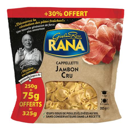 Paquet de cappelletti Giovanni Rana jambon cru - 325g