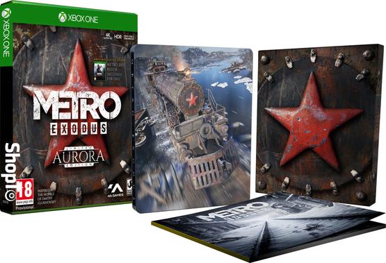 Metro Exodus Aurora Limited Edition inclus le Jeu + Season Pass + Artbook + Metro Redux 2033 + 1 Poster + 2 Ecussons sur Xbox One