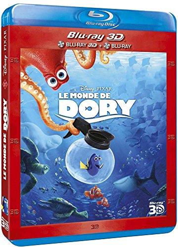 Coffret Combo Blu-Ray 2D/3D Le Monde de Dory