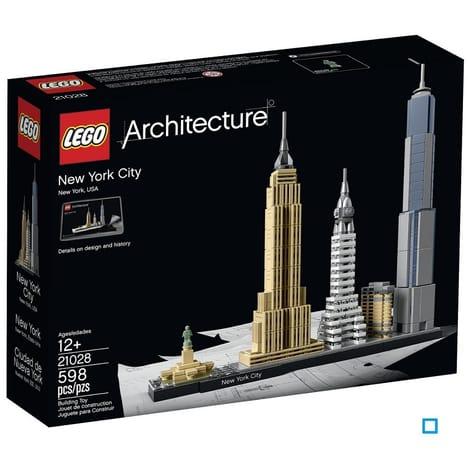 Jeu de Construction Lego Architecture 21028 - New YorK