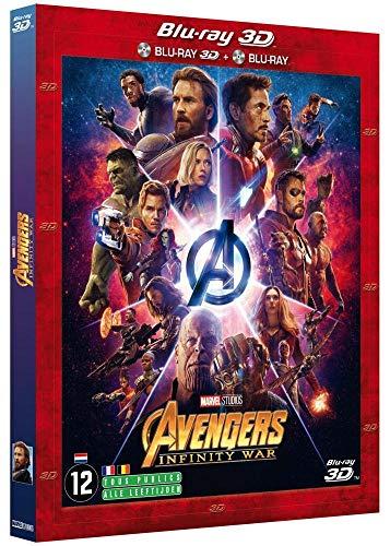 Coffret Blu-Ray Combo 2D/3D Avengers Infinity War