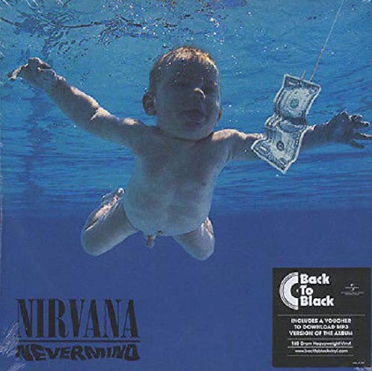 Vinyle Nirvana - Nevermind