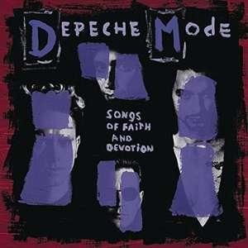 Vinyle Depeche Mode - Songs of Faith and Devotion