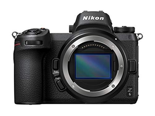 Appareil photo Hybride Nikon Z6 avec FTZ AF Bague d'adaptation - Boîtier Nu