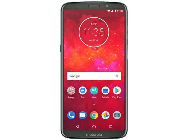 """Smartphone Motorola Z3 Play 6"""" Full HD - 4Go de RAM, 64Go de ROM, Snapdragon 636 + Powerpack Mods  (Frontalier Belgique)"""