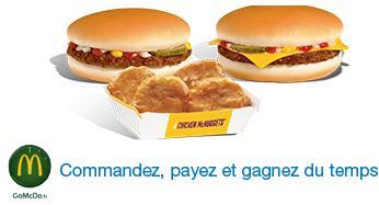 Un menu acheté = un sandwich offert au McDo La Défense