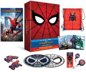 Combo Blu-ray + DVD Spider-Man : Homecoming - Édition Collector