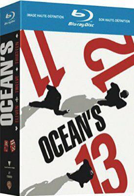Coffret Blu-ray Trilogie Ocean's (11 + 12 + 13)