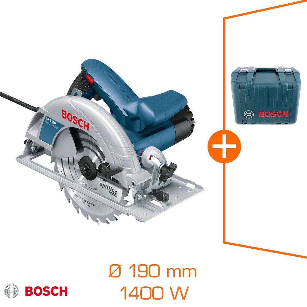Sélection d'articles en promotion - Ex : Scie circulaire Bosh bleu 1400W - Ø190 mm + lame + coffret