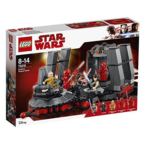 Jeu de construction Lego Star Wars - Salle du trône de Snoke n°75216