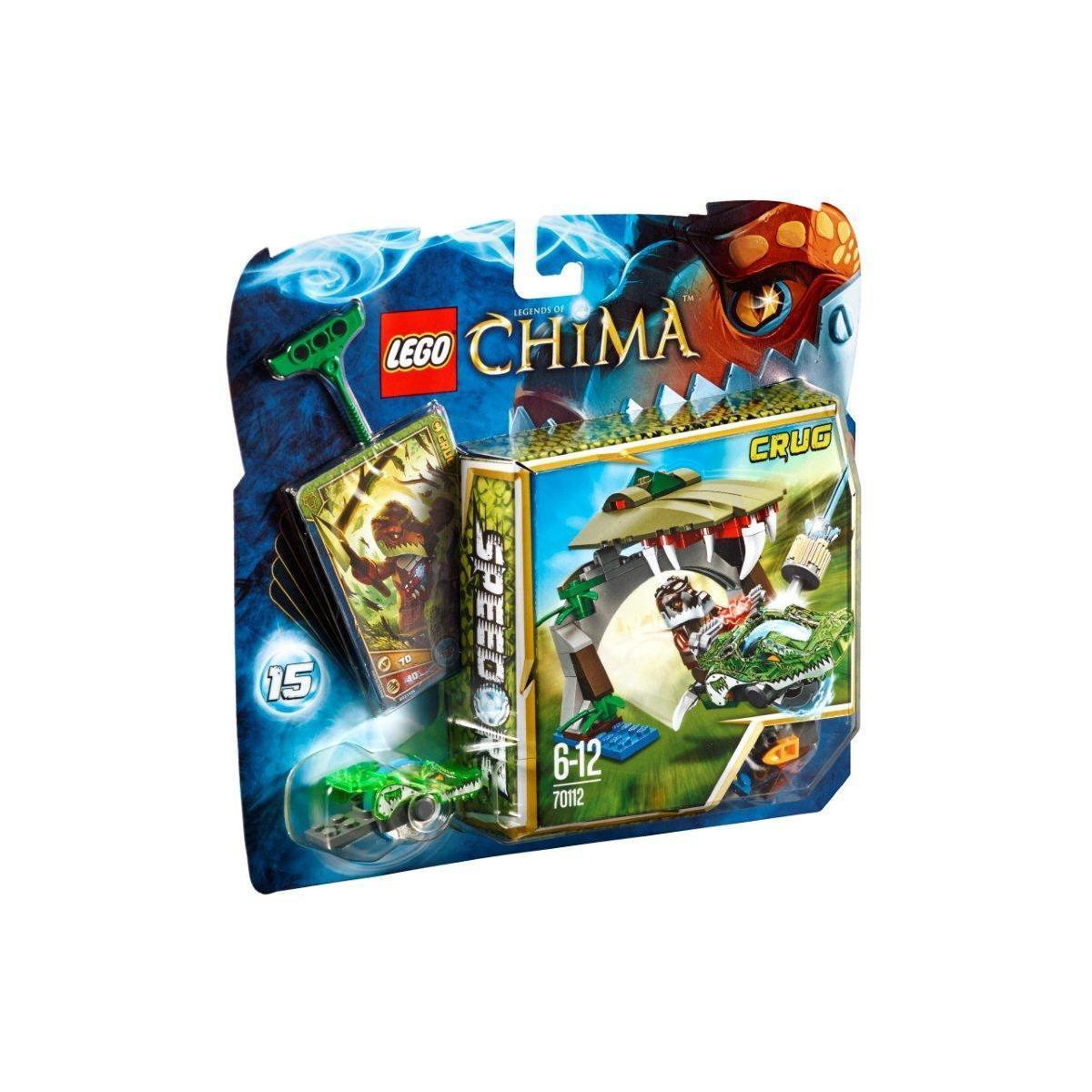 Sélection de 3 Boites Lego Legends of chima - Speedorz - Ex : L'attaque du nid Royal - n°70108