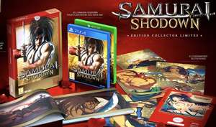 Samurai Shodown Limited Edition sur PS4 ou Xbox One (editionspixnlove.com)