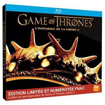 Game of Thrones - Saison 2 en Blu-Ray Coffret de pré-résérvation