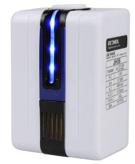 Mini purificateur d'air électrique (110-240V)
