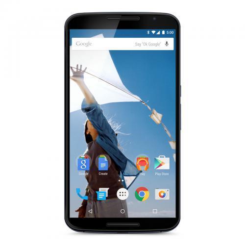"""Smartphone 6"""" Motorola Nexus 6 Bleu (Reconditionné - Grade A) - 32 Go"""