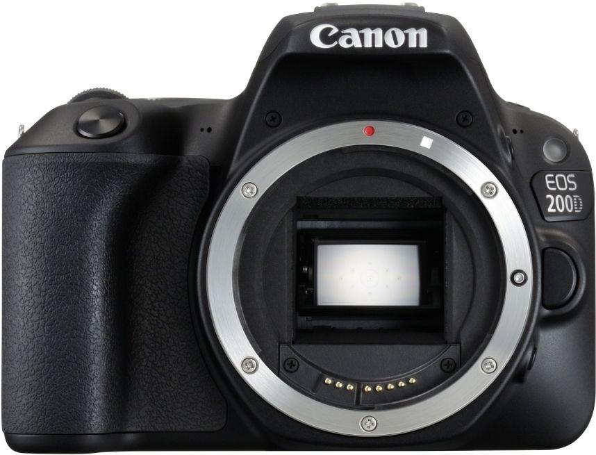 Appareil Photo Reflex numérique Canon EOS 200D - Boîtier Nue, Capteur APS-C (+21.43€ en superpoints)