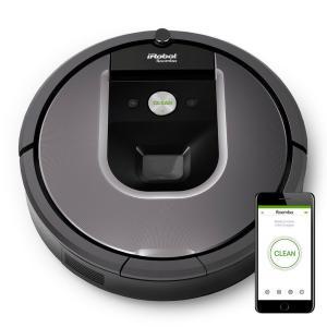 Aspirateur robot iRobot Roomba 960 - 33W, 59 dB, Gris