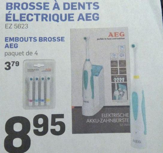 brosse à dents électrique AEG