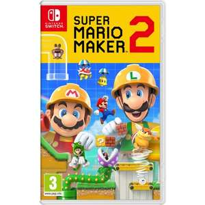 Super Mario Maker 2 sur Nintendo Switch