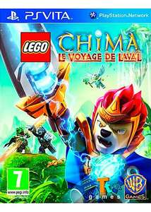 Lego Legends of Chima Le voyage de Laval sur PS Vita