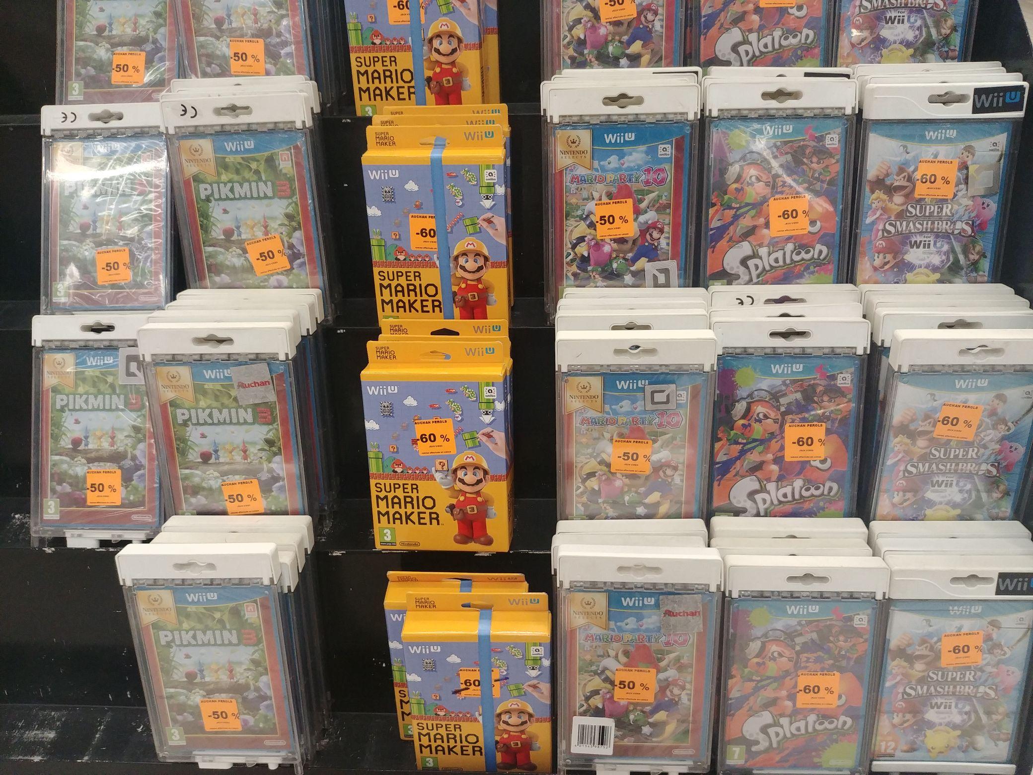 Jusqu'à -60% sur une sélection de Jeux sur Nintendo Wii U - Perols (34)
