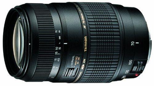 Objectif Tamron  AF 70-300mm F/4-5,6 Di LD IF Macro 1/2 - Monture Nikon plein format ou APS-C