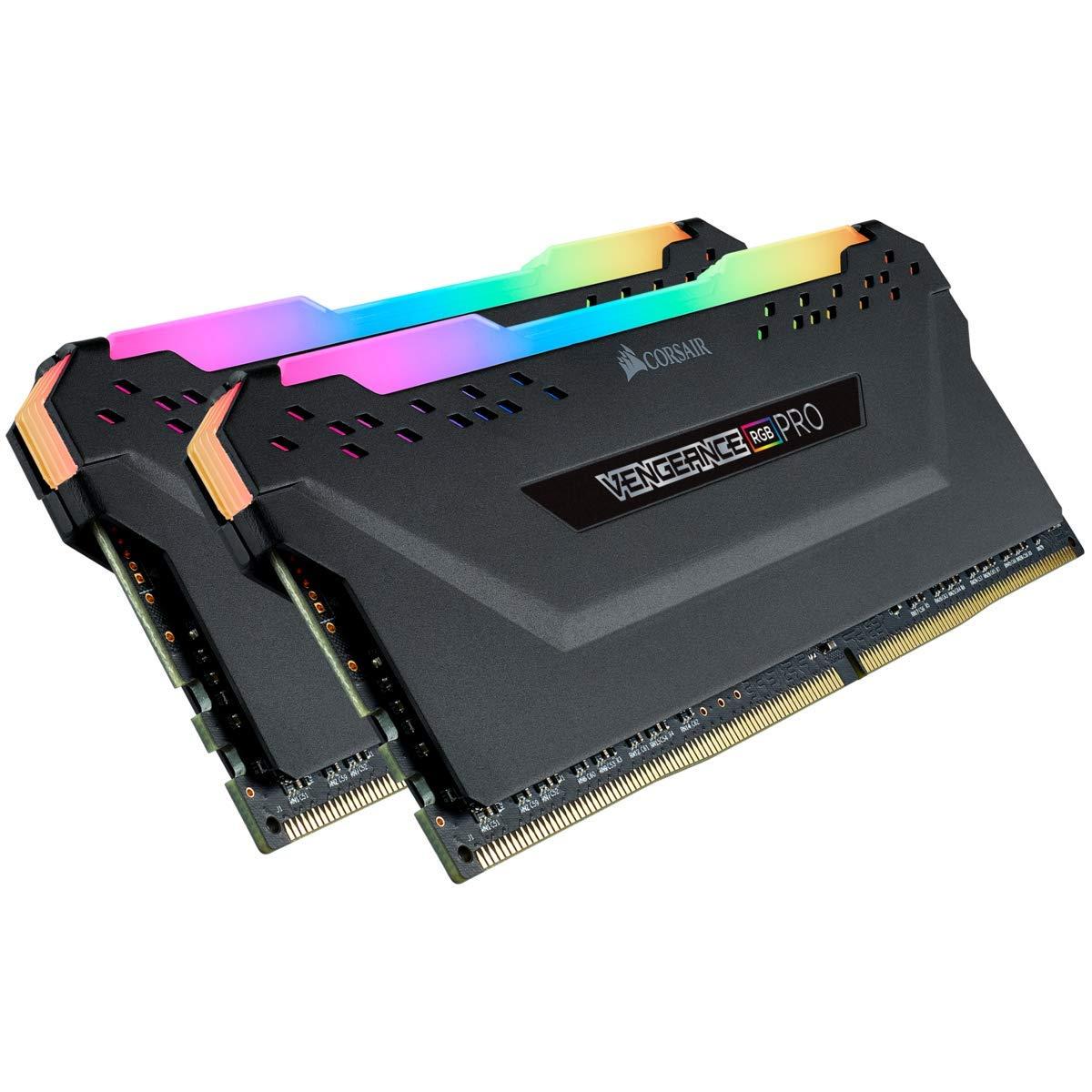 Kit de Mémoire RAM Corsair Vengeance RGB PRO - 16 Go (2x8Go) - DDR4, 2666MHz, C16, XMP 2.0
