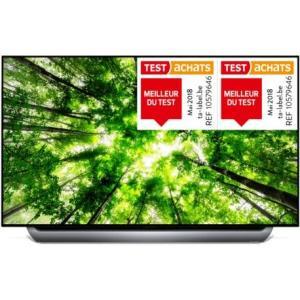 """TV OLED 55"""" LG 55C8 - 4K UHD, HDR, Smart TV (Frontaliers Allemagne - gamingoase.de)"""