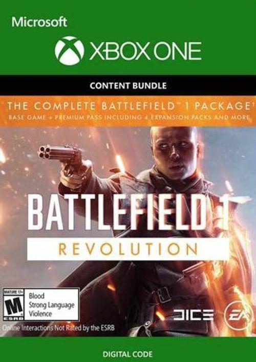 Battlefield 1 Revolution (Jeu + Premium Pass) + Battlefield 1943 sur Xbox One (Dématérialisé)
