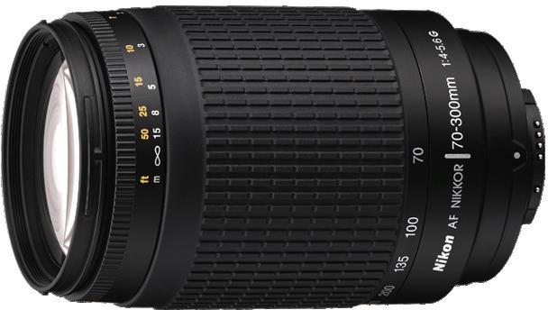 Téléobjectif Nikon AF 70-300mm f4.0-5.6 G Nikkor