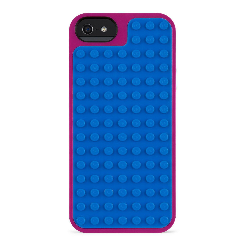 Coque polycarbonate Belkin Lego F8W283vfC01 pour iPhone 5/5S violet/bleu