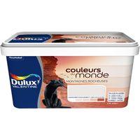 Sélection de peintures Julien et Dulux Valentine - Ex : Peinture Couleurs du Monde 2.5 L