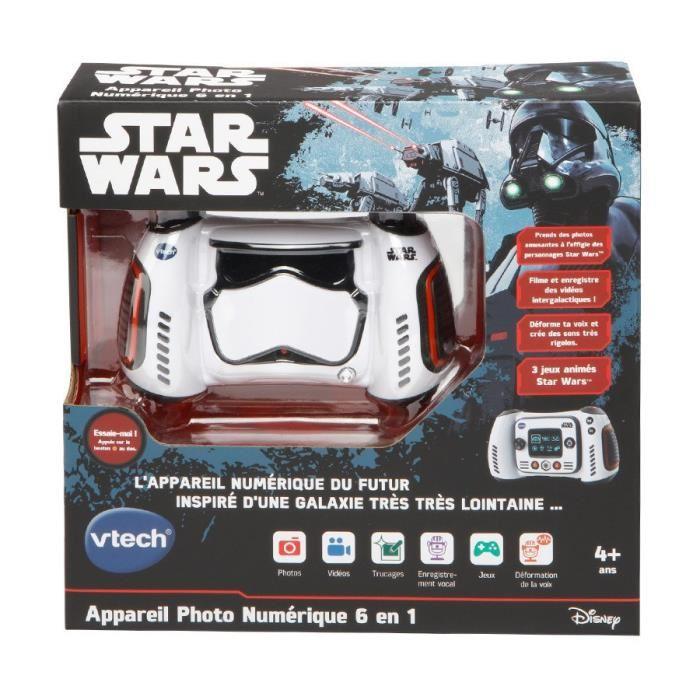 Appareil Photo numérique 6 En 1 VTech Star Wars