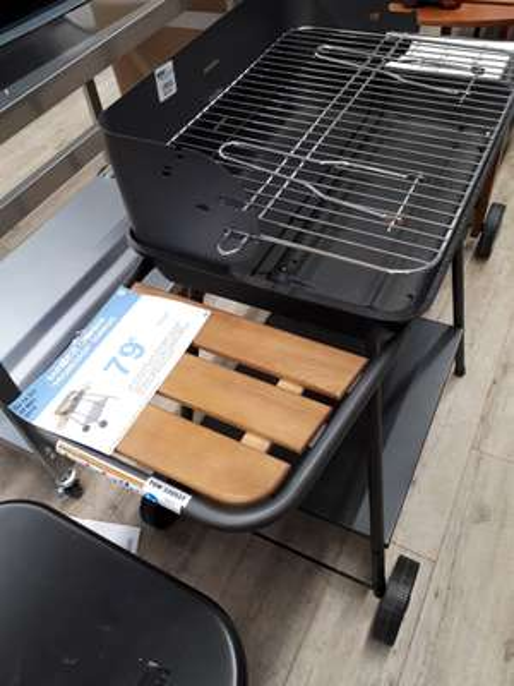 Barbecue charbon SoMagic Promenade - Semecourt (57)