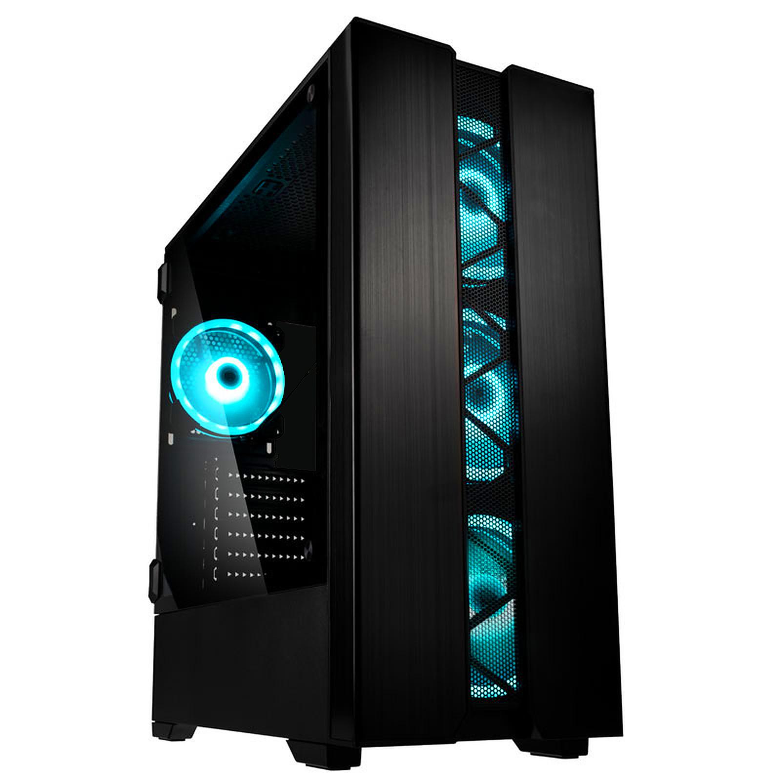 PC fixe Phalanx - i7-9700 KF (8x3.6 Ghz), RTX 2080 OC (8 Go), 16 Go RAM (3000mhz), 480 Go SSD, be quiet! 700W 80+Gold (1399€ avec i5-9600K)