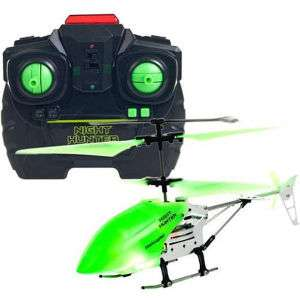 Night Hunter Xtreme Glow in the Dark 2 Channel RC Helicopter