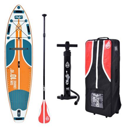 Paddle Skiffo Sun Cruise 10'10 - 330x81x15cm - poids max 140 kg (accessoires inclus)