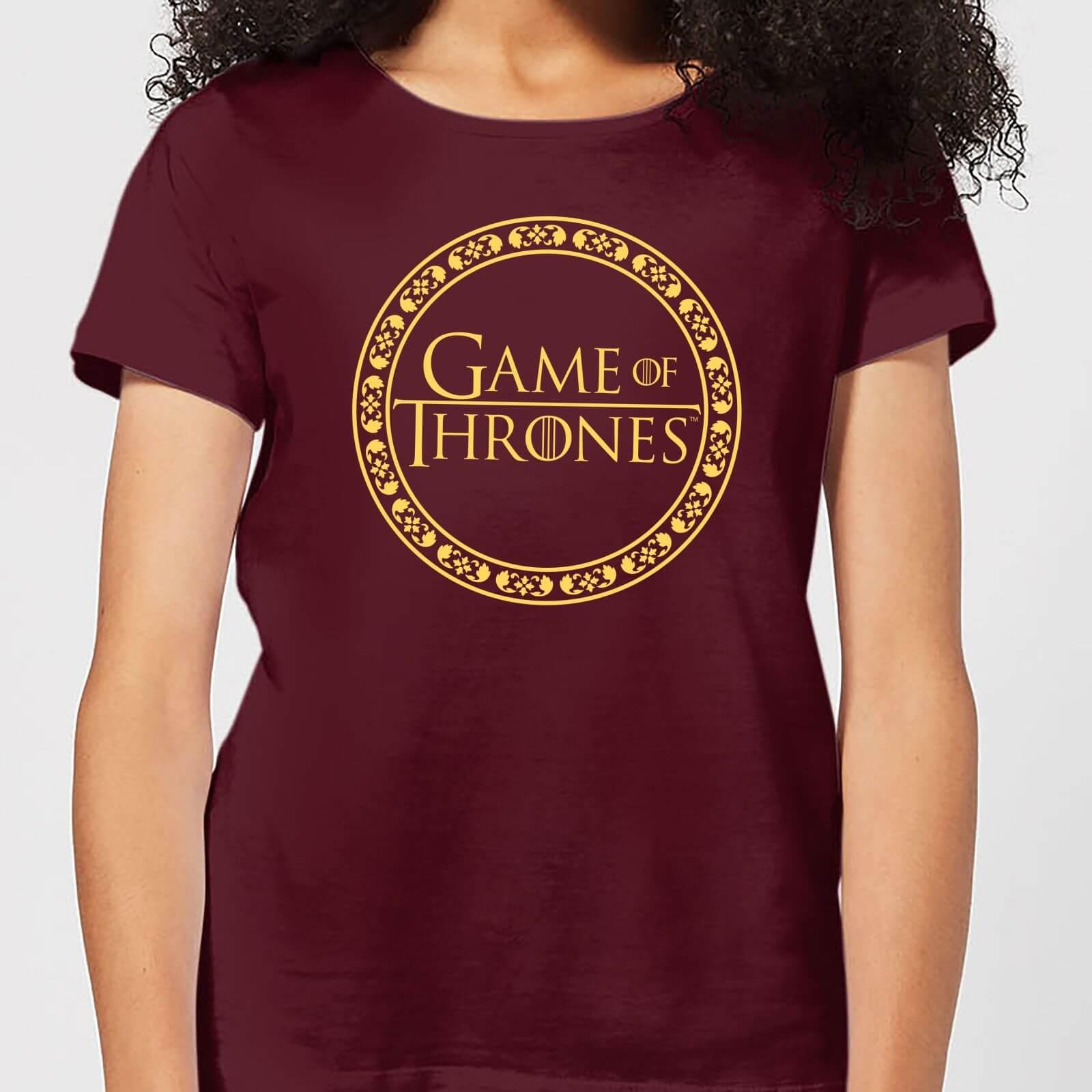 T-Shirt femme Game of Thrones Circle Logo
