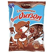 Sélection de Friandises Cémoi en Promotion - Ex: [Panier Plus] Lot de 5 Sachets de Guimauves L'Authentique Petit Ourson (Chocolat au Lait)