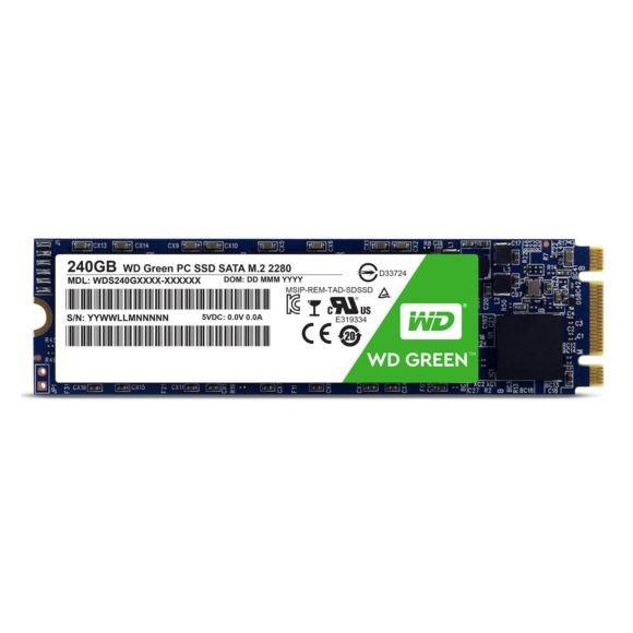 """SSD Interne 2.5""""  M.2 2280 WD Green - 240 Go"""