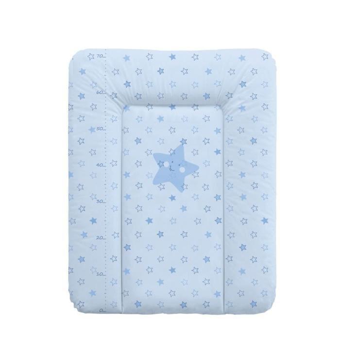 Matelas à Langer Baby Calin Confort - 50 x 70 cm - Bleu Ciel