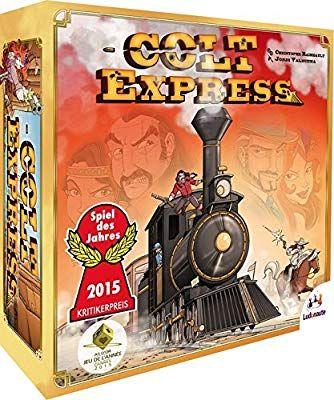 Jeux de société Asmodee  - Colt Express (Version Française)