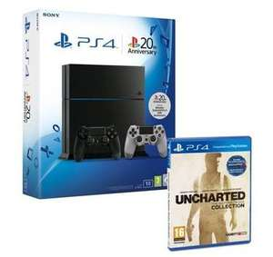 Pack Console  PS4 1 To  + 2 ème manette + jeu Uncharted: drake collection