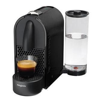 Machine à café Nespresso U Magimix (ODR de 30€ ou 40€) + 40€ sur votre compte fidélité - Noir ou Orange
