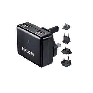 Chargeur voyage universel 2 Ports USB Duracell -  3.4 A