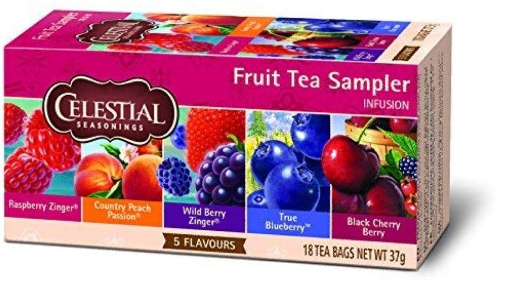 30% de réduction sur une sélection de produits Celestial Seasoning - Ex : Lot de 6 Celestial Seasonings Fruit Sampler South (via abonnement)