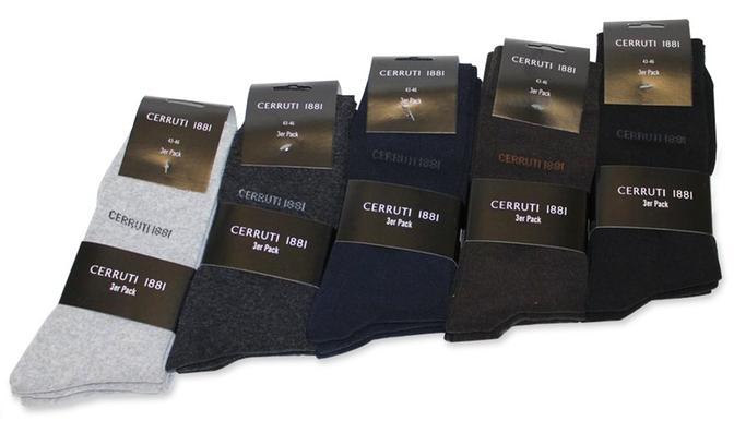30 paires de chaussettes Cerruti à 41,98€ ou 15 paires
