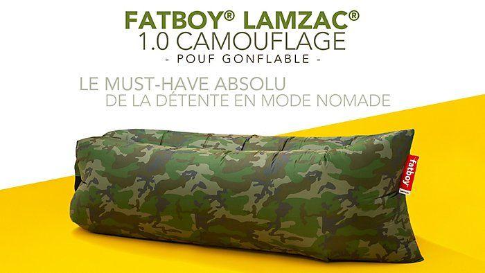Pouf Fatboy Lamzac 1.0 - Camouflage