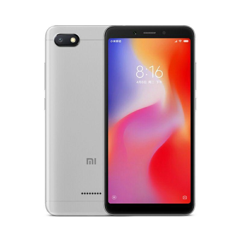 "Smartphone 5.45"" Xiaomi Redmi 6 (Sans B28) - 3 Go de RAM, 32 Go (Version Internationale - Entrepôt France)"